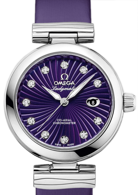 Adhering to the classical appearance of De Ville, this steel case fake Omega De Ville watch features the round dial and unique watch ear.