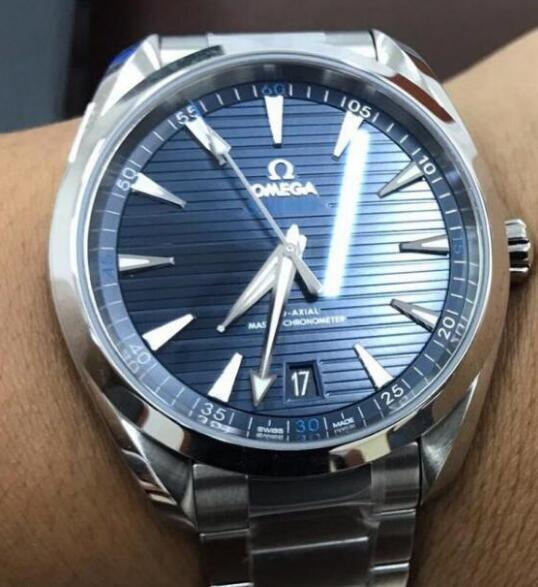 Omega Seamaster Aqua Terra 150M is suitable for formal occasions and casual occasions.