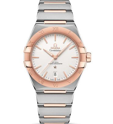 The diameter of Omega Constellation has been increased from 38 mm to 39 mm.
