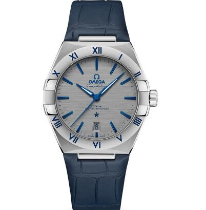 The new Omega Constellation for men is eye-catching and attractive.
